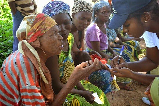 """13. """"Yaşam şartları ve maddi zorluklar nedeniyle Nijeryalıların ortalama ömrü 55 yıldır. Ölümlerin çoğu ise sıtma gibi hastalıklar ve içme suyundan zehirlenmek..."""""""