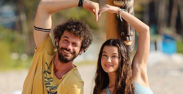 """Set aşklarına alışkın olan Pınar Deniz ve Yiğit Kirazcı, """"Aşkın Kıyameti"""" filminin başrolünde buluştu."""