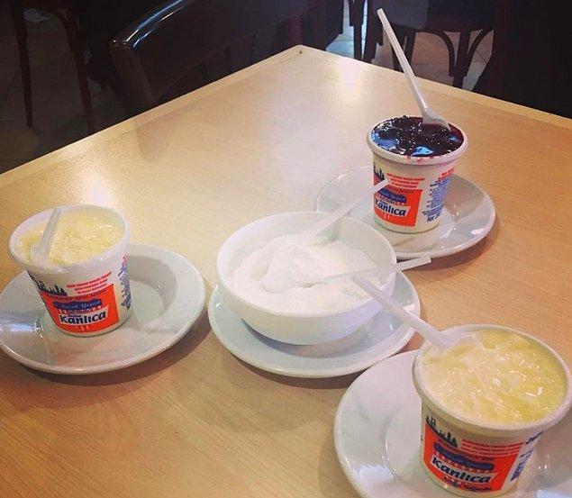 10. 'Yoğurdun her halini yerim!' diyenlere Kanlıca İsmailağa Cafe…