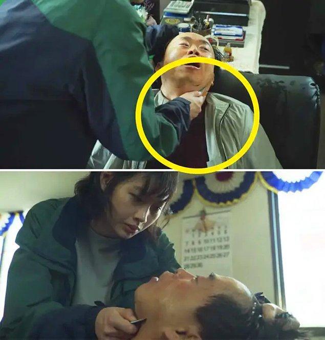 9. Sae-byeok'un 8. bölümdeki yürek burkan ölümü, anne babasını Kuzey Kore'den çıkarmanın bir yolunu bulmaya çalışırken bir adamı öldürmekle tehdit etmesine benziyor.