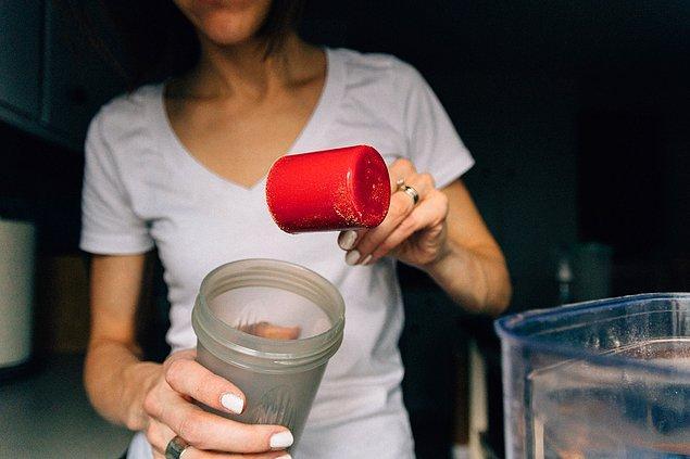 17. Protein shake ve barlar kilo vermenizi sağlamaz.