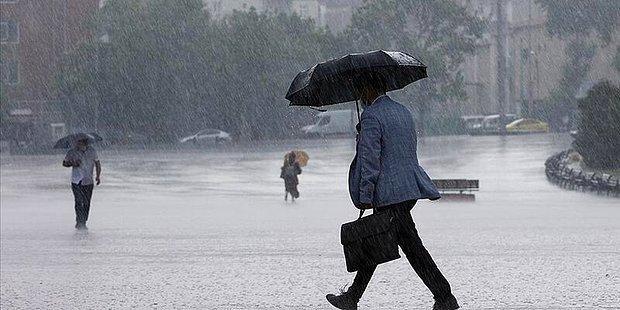Meteoroloji'den İstanbul ve Ankara da Dahil 47 İl İçin Sağanak Yağış Uyarısı