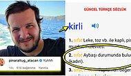 Ünlü Komedyen Şahan Gökbakar, TDK Güncel Sözlüğündeki 'Kirli' Kelimesinin Tanımına Büyük Tepki Gösterdi!