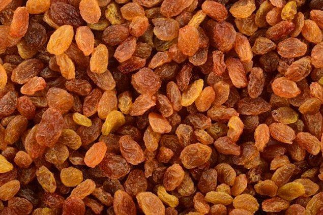3. Muz ve kuru üzüm