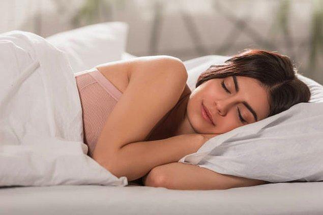Uyurken iç çamaşırlarınızı çıkarabilirsiniz.