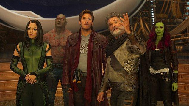 14. Guardians of the Galaxy 2 (Galaksinin Koruyucuları 2) - IMDb: 7.6