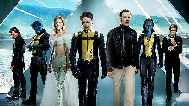 13. X-Men: First Class (X-Men Birinci Sınıf) - IMDb: 7.7