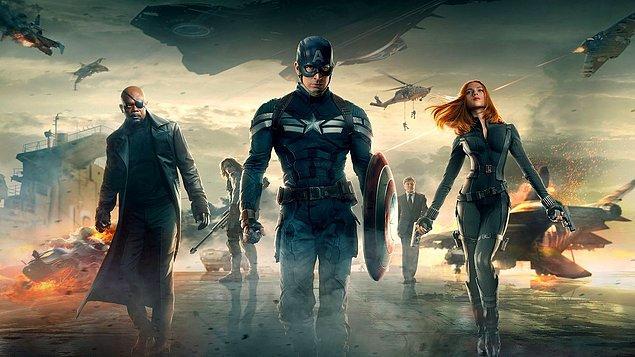 11. Captain America: The Winter Soldier (Kaptan Amerika: Kış Askeri) - IMDb: 7.7