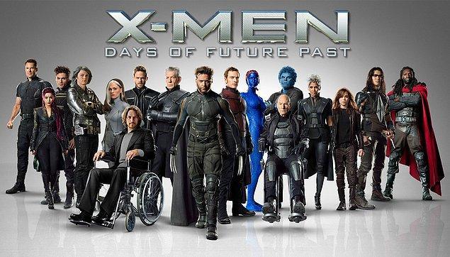 9. X-Men: Days of the Future Past (X-Men: Geçmiş Günler Gelecek) - IMDb: 7.9