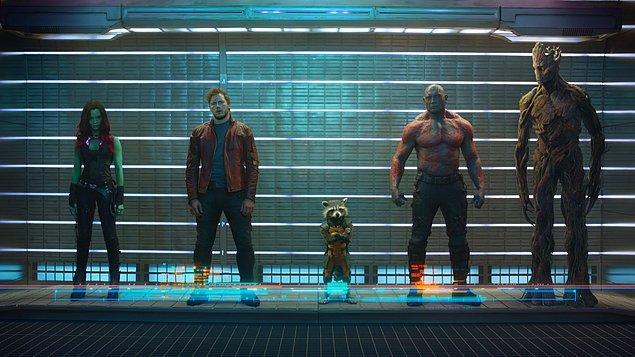 6. Guardians of the Galaxy (Galaksinin Koruyucuları) - IMDb: 8.0