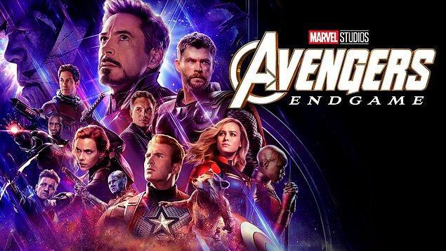 1. Avengers: Endgame (Yenilmezler: Son Oyun) - IMDb: 8.4