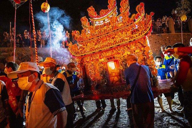 6. Aç Hayalet Festivali - Hong Kong