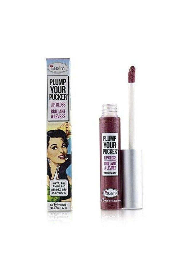 18. The Balm Plump Ypur Pucker serisi, dudaklarınıza ışıltı verirken hafif bir dolgunluk hissi de veriyor.