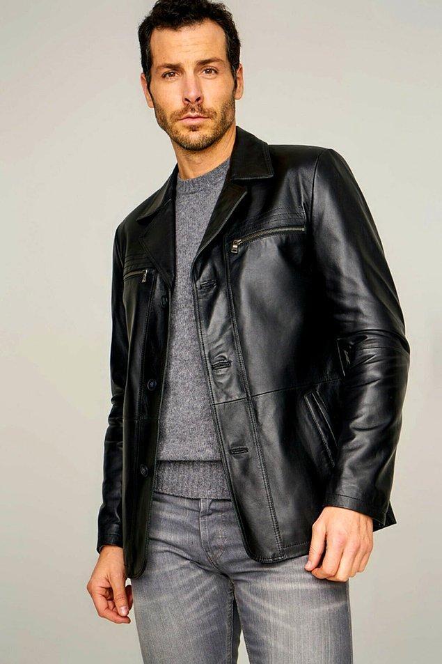 18. Deri ceketleri asi, casual bir günlük tarzla kullanabilirsiniz.