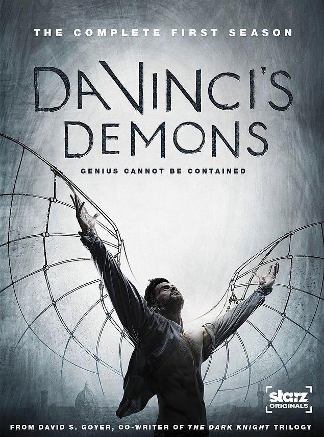 5. Da Vinci's Demons ( Da Vinci'nin Şeytanları) - IMDb: 8.0