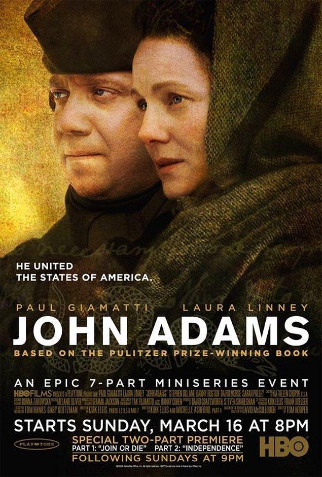 1. John Adams - IMDb: 8.5