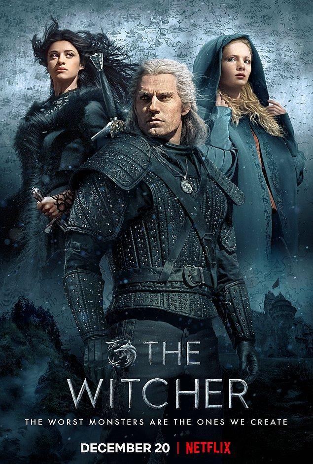 8. The Witcher - IMDb: 8.2