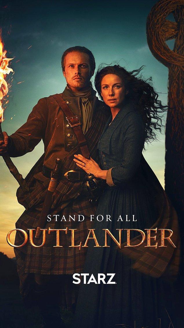 5. Outlander - IMDb: 8.4