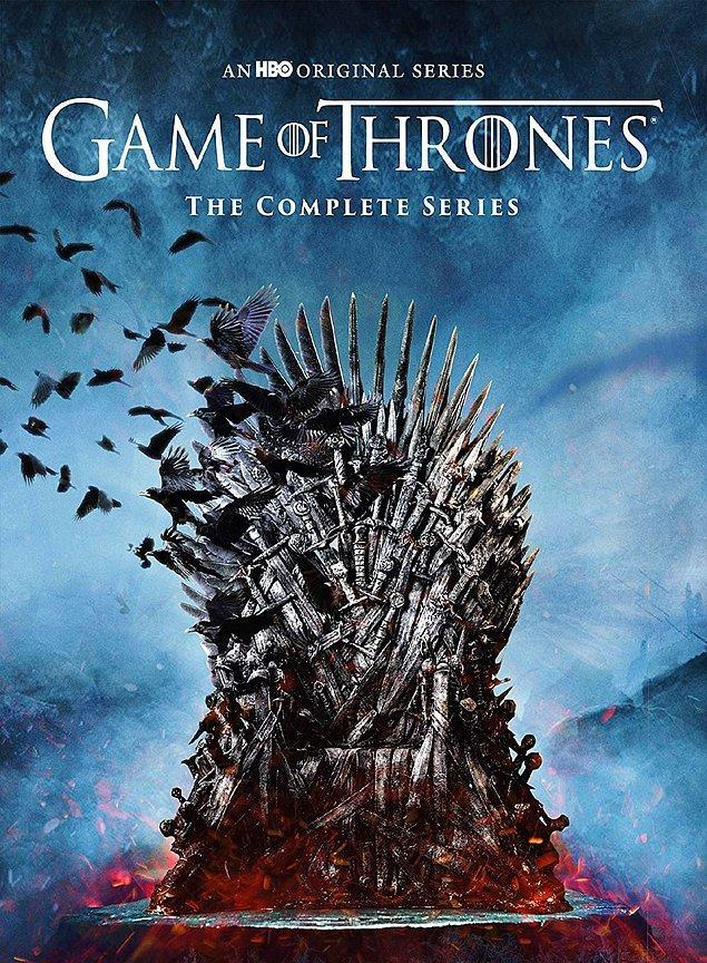 1. Game of Thrones - IMDb: 9.2