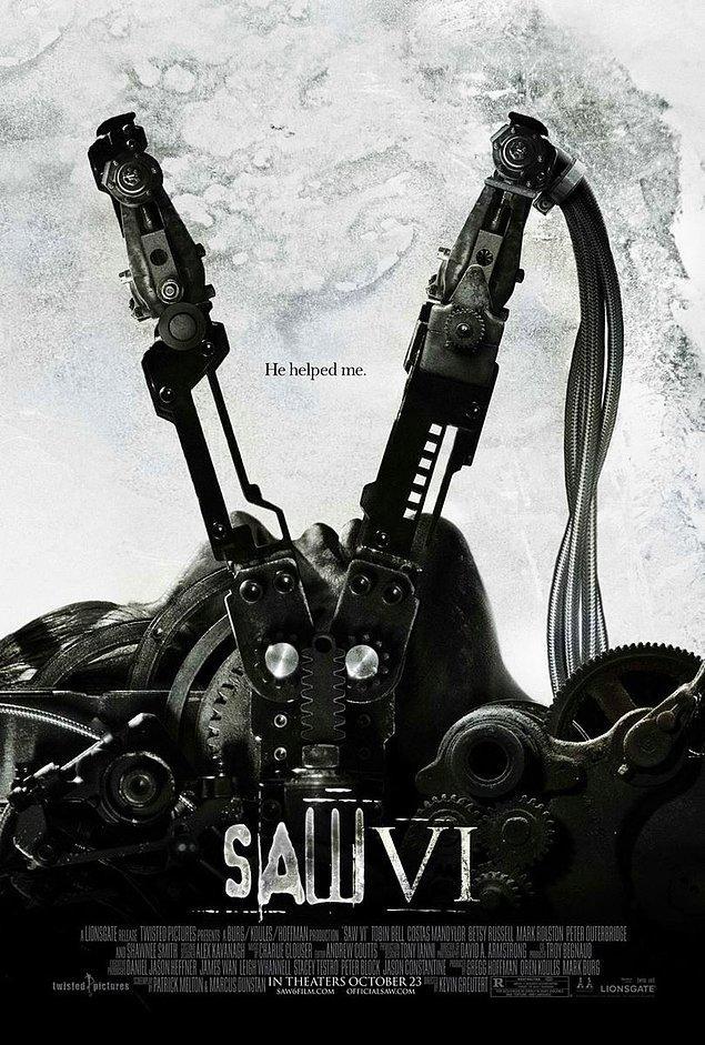 15. Saw VI - IMDb: 6.0
