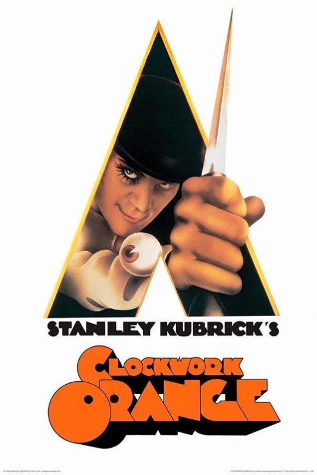 6. A Clockwork Orange - IMDb: 8.3