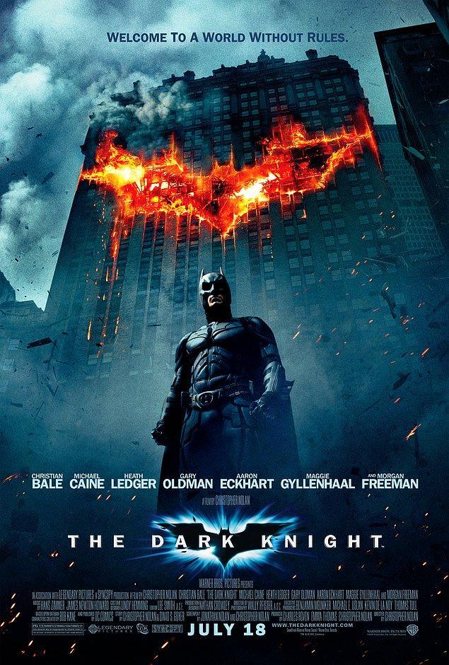 1. The Dark Knight - IMDb: 9.0