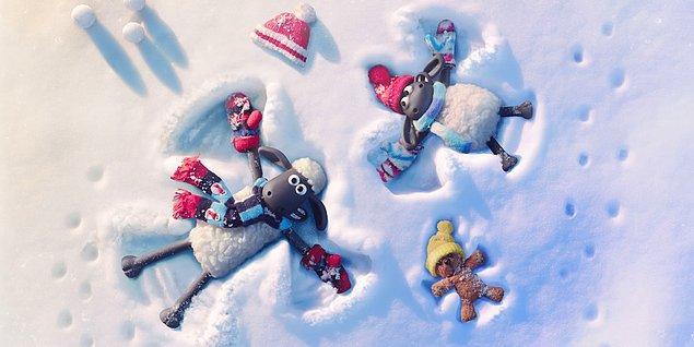 3 Aralık - Shaun the Sheep: The Flight Before Christmas