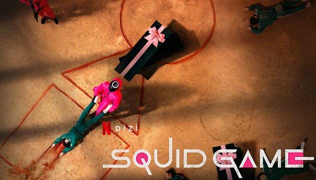 Maddi zorluklar çeken 456 kişinin bir takım 'çocuk oyunları' oynayarak büyük ödüle kavuşmasını konu alan Squid Game, Netflix'in bugüne kadarki en popüler dizisi olma yolunda.