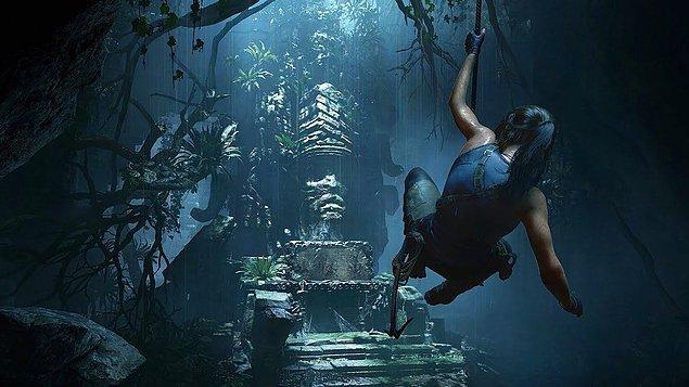 1. Tomb Raider Serisi - Lara Croft