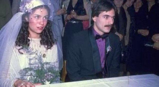 İlk babalık duygusunu Muhsine Şehnaz Kamiloğlu ile yaptığı evlilikte tattı...