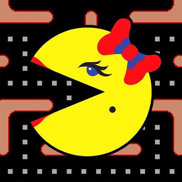 10. Ms. Pac-Man - Ms. Pac-Man