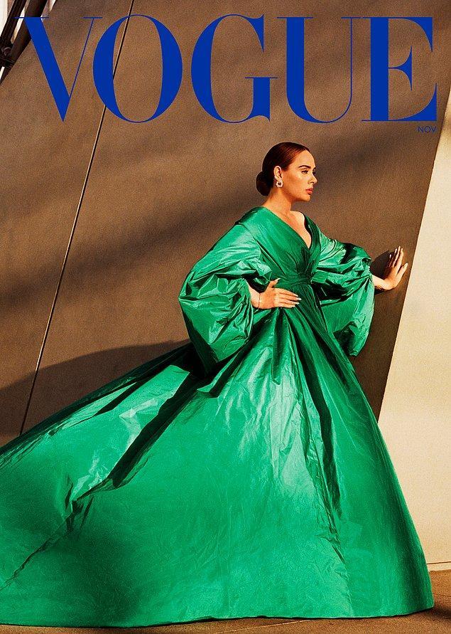 Vogue dergisinin İngiliz ve Amerikan versiyonuna aynı anda kapak oldu; ki bu dergi tarihinde bir ilk.