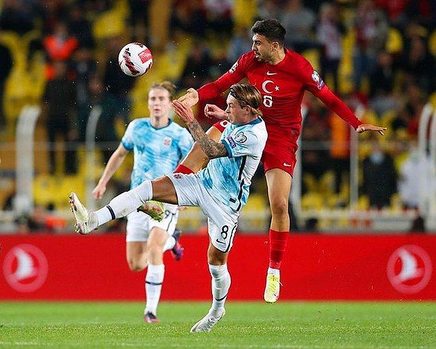 Bu sonuçla Türkiye 12 puana yükselirken, Norveç de puanını 14'e çıkarttı. Lider Hollanda ise Letonya karşısında aldığı 1-0'lık galibiyetle puanını 16 yaptı.