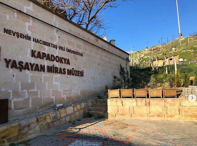 7. Geçmişi günümüze getiren Kapadokya Yaşayan Miras Müzesi...