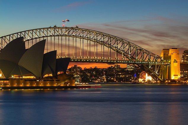 6. Sidney, Avustralya