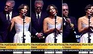 """Tamer Karadağlı ile Nihal Yalçın'ın Ödül Törenindeki Diyaloğu Gündem Oldu: 'Artık Sus mu Diyorsunuz?"""""""