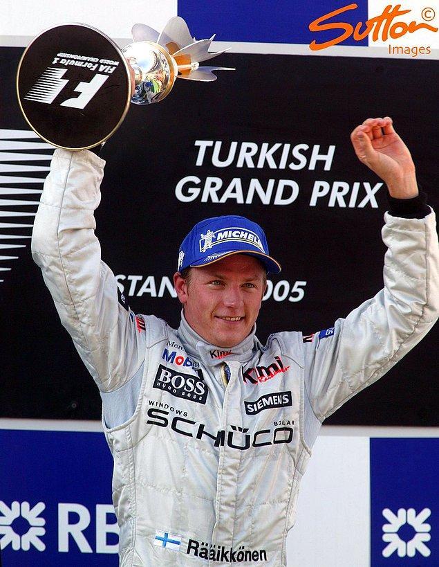 1. Kimi Räikkönen (2005)