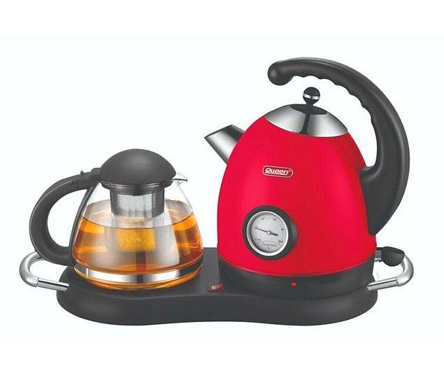 3. Nostaljiyle moderni birleştiren çay makinesi...