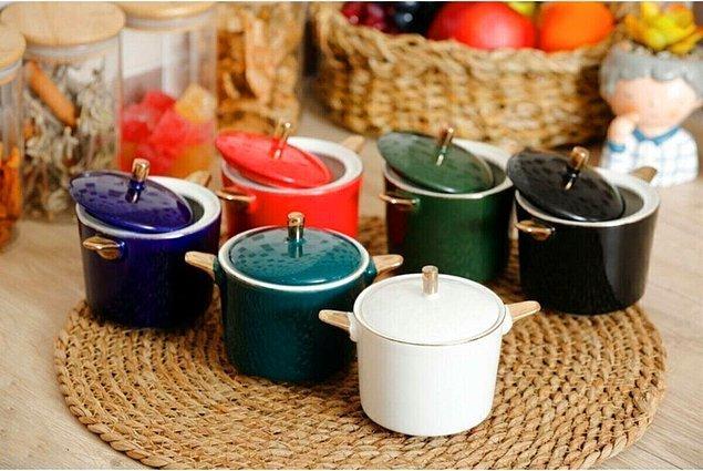 10. Renkli ve dekoratif şekerlikler...