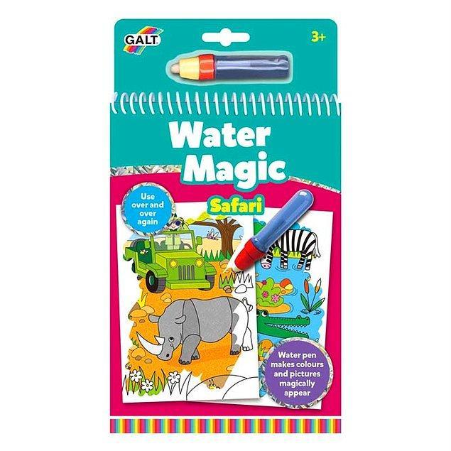 6. Tekrar tekrar kullanabileceğiniz sihirli kalemli safari kitabı çocuğunuzun çooook hoşuna gidecek!