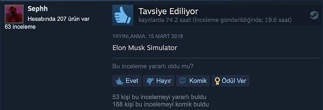 6. Elon Musk olma zamanı.