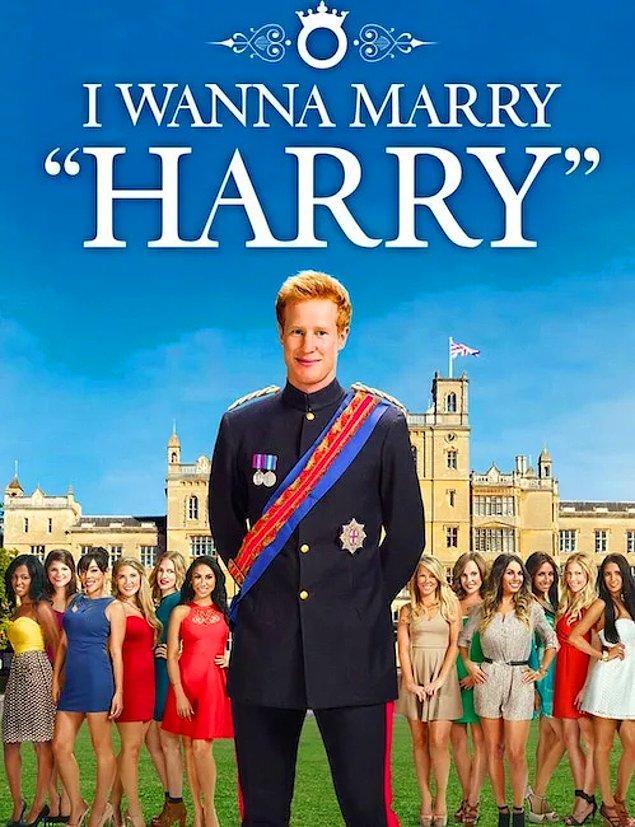 """9. """"Harry ile Evlenmek İstiyorum"""" adlı şovda yarışmacıların, randevuya gittikleri kişinin Prens Harry olduğuna inanmaları için beyinleri resmen yıkandı."""