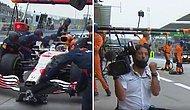 Max Verstappen'in Pit-Stop Ekip Hızına Kamerandan Müthiş Tepki