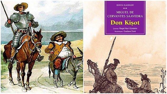 7. Don Kişot - Cervantes