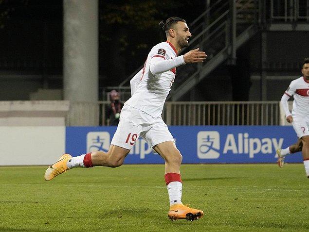 70. dakikada Merih Demiral'ın kendi kalesine attığı golle 1-0 geriye düşen, 76. dakikada Serdar Dursun'la eşitliği yakalayan Stefan Kuntz yönetimindeki Milli Takım ,