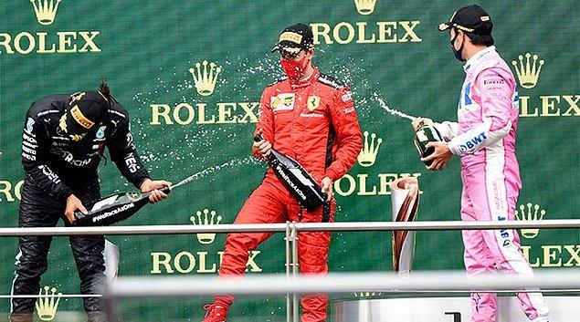 """""""Türkiye'de ise 4 yıldır otomobil yarışlarında ya şampanya hiç patlatılmıyor ya da gazoz patlatılıyor"""""""