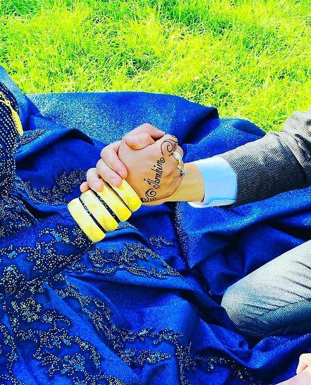 5. Nişanda bilek güreşi, en sevdiğim ❤️
