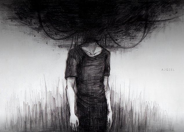 10. Son olarak, geceleri geçmişe takılıp üzüldüğün çok oluyor mu?