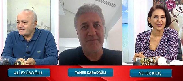 'Zuhal' filmindeki rolüyle 58. Antalya Altın Portakal Film Festivali'nde 'En İyi Kadın Oyuncu Ödülü'nü kazanan Nihal Yalçın'ın konuşmasını keserek, elindeki ödülü uzatması gündem olan Tamer Karadağlı, Magazin Noteri'ne konuk olarak olayı anlattı.