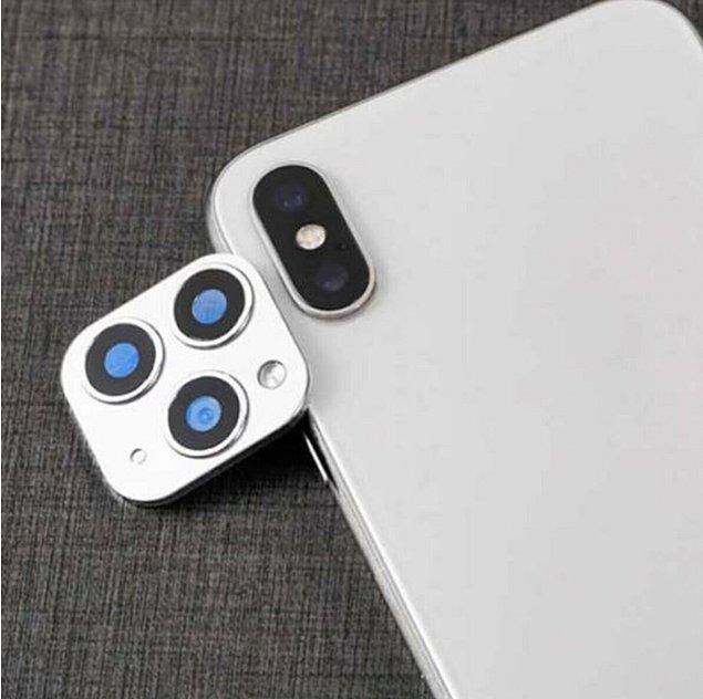 13. Bulduk bulduk! Fake iPhone kamera aparatını sizin için bulduk.